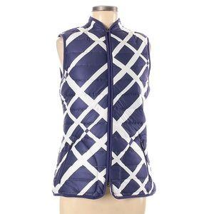 NIKE GOLF XS Purple and white ultra light vest
